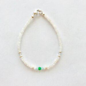 Bracelet en pierre de lune